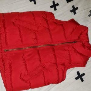 Red Old navy vest